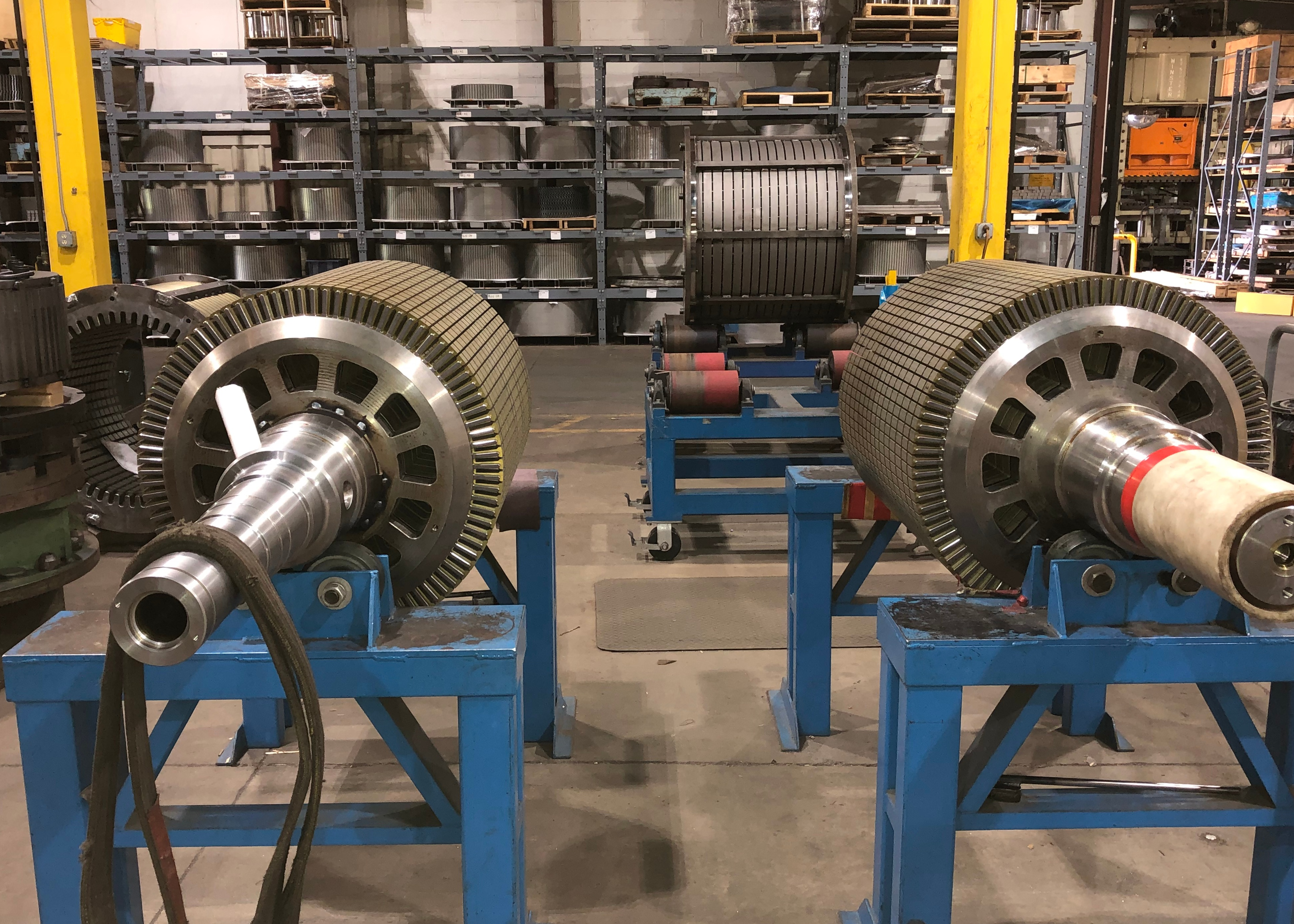 Stators and Rotors for Wind Energy